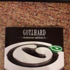 CDs de Música: GOTTHARD , DOMINO EFFECT , CD DIGIPACK 2007 , ESTADO IMPECABLE ENVIO , HARD ROCK. Lote 244451580
