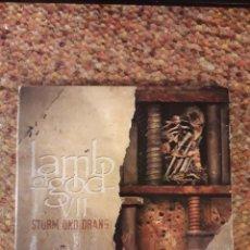 CDs de Música: LAMB OF GOD , VII : STURM UND DRANG , CD 2015 DIGIPACK, LEVES SEÑALES DE USO, TRASH , HARDCORE. Lote 244452385