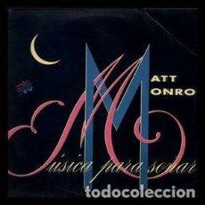 CDs de Música: MATT MONRO – MÚSICA PARA SOÑAR (DOBLE CD). Lote 244476475