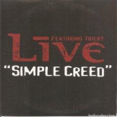 CDs de Música: LIVE - SIMPLE CREED (CDSINGLE CARTON, RADIOACTIVE RECORDS 2001). Lote 244486235