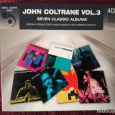 CDs de Música: JOHN COLTRANE - SEVEN CLASSIC ALBUMS - 4 X CD - SOULTRANE LUSH LIFE OLE PLAYS THE BLUES. Lote 244488350
