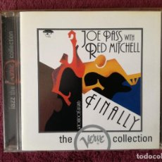 CDs de Música: JOE PASS & RED MITCHELL - FINALLY (VERVE) CD. Lote 244490070