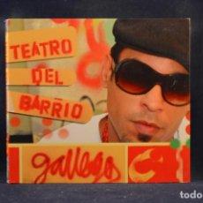 CDs de Música: GALLEGO - TEATRO DEL BARRIO - CD. Lote 244500725
