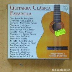 CDs de Música: VARIOS - GUITARRA CLASICA ESPAÑOLA - 2 CD. Lote 244502440