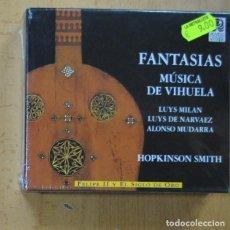 CDs de Musique: HOPKINSON SMITH - FANTASIAS MUSICA DE VIHUELA - CD. Lote 244502695