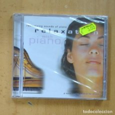 CDs de Música: VARIOS - RELAXATION WITH PIANO - CD. Lote 244502795