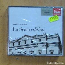 CDs de Musique: VARIOS - LA SCALA EDITION VOLUME 1 1878 1914 - CD. Lote 244503045