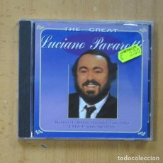 CDs de Música: LUCIANO PAVAROTTI - THE GREAT - CD. Lote 244503170