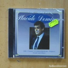 CDs de Música: PLACIDO DOMINGO - THE GREAT - CD. Lote 244503180