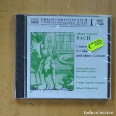 CDs de Música: BACH - CONCERT FOR OBOE AND OBOE D´AMORE - CD. Lote 244503340