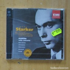 CDs de Musique: JANOS STARKER - DVORAK CELLO CONCERTO - 2 CD. Lote 244503430