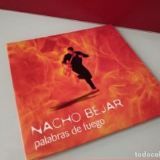 CDs de Música: CD SINGLE PROMO NACHO BEJAR / PALABRAS DE FUEGO - CARTON. Lote 244518960