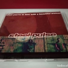 CDs de Música: STEEL PULSE WHEN YOU´RE IN LOVE BEAUTIFUL WOMAN 2 VERSIONES +1 CD SINGLE. Lote 244522590