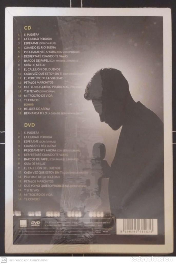 CDs de Música: DAVID DEMARIA (20 AÑOS) 2 CDs 2018 * Precintada - MANUEL CARRASCO, VANESA MARTIN, SERGIO DALMA... - Foto 2 - 244522880