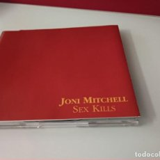 CDs de Música: JONI MITCHELL: SEX KILLS, CD SINGLE PROMO WEA 2014. SPAIN, 1994. Lote 244523020