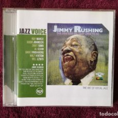 CDs de Música: JIMMY RUSHING - THE YOU AND ME THAT USED TO BE - CD - RAY NANCE ZOOT SIMS BUDD JOHNSON. Lote 244527790