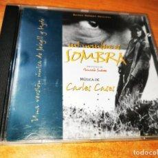 CDs de Música: MI NOMBRE ES SOMBRA BANDA SONORA CARLES CASES CD ALBUM 1996 CONTIENE 10 TEMAS RARO. Lote 244528630