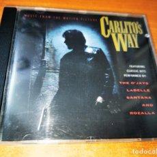 CDs de Música: CARLITO'S WAY BANDA SONORA CD ALBUM 1993 MARC ANTHONY SANTANA LABELLE BILLY PRESTON 12 TEMAS. Lote 244530235