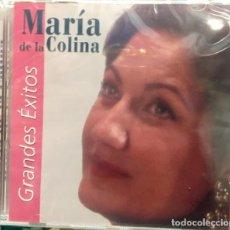 CDs de Música: MARÍA DE LA COLINA - GRANDES ÉXITOS. Lote 244532795