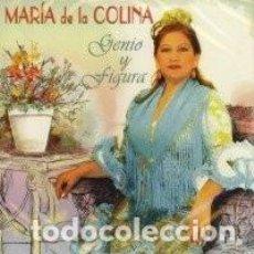 CDs de Música: MARÍA DE LA COLINA - GENIO Y FIGURA. Lote 244533025