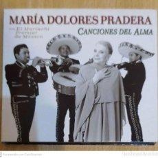 CDs de Música: MARIA DOLORES PRADERA (CANCIONES DEL ALMA) CD 2003 - MARIACHI PREMIER DE MEXICO. Lote 244546630