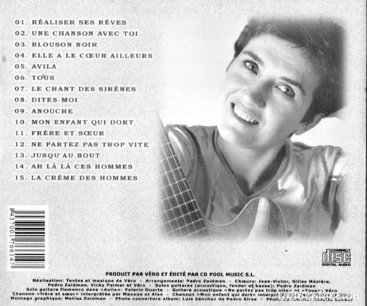 CDs de Música: VERO - REALISER SES REVES - Foto 2 - 244560050
