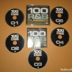 CDs de Música: 100 R&B CLASSICS - 5 CD - WMTV062 - TLC - ALICIA KEYS - SEAN PAUL - P. DIDDY - BRANDY - TWEET .... Lote 244563965