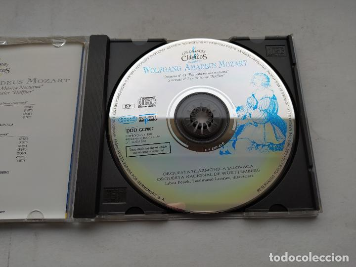 CDs de Música: LOS GRANDES CLÁSICOS. WOLFGANG AMADEUS MOZART. SERENATA Nº 13. 7. ORQUESTA ESLOVACA. CD. TDKCD37 - Foto 2 - 244565080