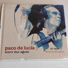 CDs de Música: PACO DE LUCÍA / ENTRE DOS AGUAS / JOYAS DEL FLAMENCO / 2 / EL PAÍS / PRECINTADO A ESTRENAR.. Lote 244565130