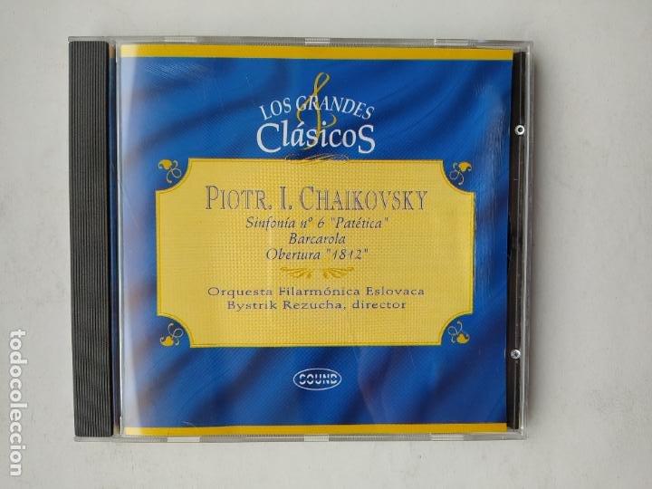 LOS GRANDES CLASICOS. PIOTR I. CHAIKOVSKY. SINFONIA Nº 6 PATETICA. ORQUESTA ESLOVACA. CD TDKCD37 (Música - CD's Clásica, Ópera, Zarzuela y Marchas)
