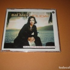 CDs de Música: MAD'HOUSE ( HOLIDAY ) - CD - VLCDMX1052-4 - VALE MUSIC - PRECINTADO - MAXI SINGLE. Lote 244565470