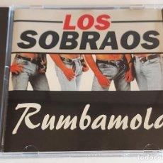 CDs de Música: LOS SOBRAOS / RUMBAMOLA / CD - KONGA MUSIC / 12 TEMAS / DE LUJO. Lote 244568275