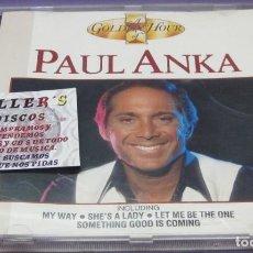 CDs de Música: PAUL ANKA - A GOLDEN HOUR - CD. Lote 244572590