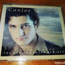 CDs de Música: CARLOS VARGAS CORRE, CORRE THE RUN AND CATCH REMIX CD MAXI SINGLE DEL AÑO 1999 PLASTICO 6 TEMAS. Lote 244588310