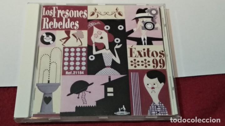 CD ( LOS FRESONES REBELDES - ÉXITOS 99)1999 SUBTERFUGE EL DIABLO -ALTERNATIVE ROCK - PERFECTO ESTADO (Música - CD's Rock)