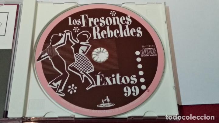 CDs de Música: CD ( LOS FRESONES REBELDES - ÉXITOS 99)1999 SUBTERFUGE EL DIABLO -Alternative Rock - PERFECTO ESTADO - Foto 6 - 244609925