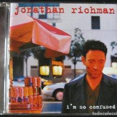 CDs de Música: JONATHAN RICHMAN - I'M SO CONFUSED - CD -. Lote 244616330