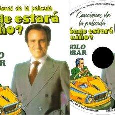 CDs de Música: MANOLO ESCOBAR DONDE ESTARA MI NIÑO. Lote 244617370