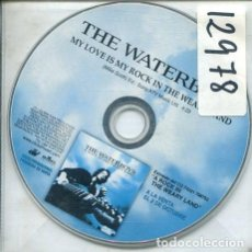 CDs de Música: THE WATERBOYS / MY LOVE IS MY ROCK IN THE WEARY LAND (CD SINGLE PICTURE PROMO 2000). Lote 244633400