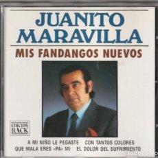 CDs de Música: JUANITO MARAVILLAS - MIS FANDANGOS NUEVOS (CD DIVUCSA 1992). Lote 244643960