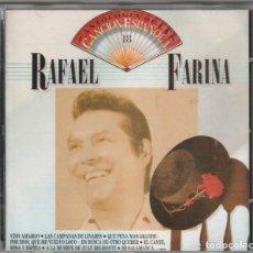 CDs de Música: RAFAEL FARINA - ANTOLOGIA DE LA CANCION ESPAÑOLA, VOL.18 (CD EMI 1990). Lote 244644215