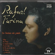 CDs de Música: RAFAEL FARINA - SUS CANCIONES MAS GRANDES (DOBLE CD EMI 1995). Lote 244644515