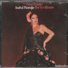CDs de Música: ISABEL PANTOJA - ¡VIVA TRIANA! (CD RCA 1988). Lote 244648980
