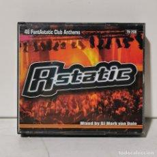 CDs de Música: 2 CD'S MUSICA - ASTATIC - 46 FANTASTATIC CLUB ANTHEMS / 2397. Lote 244659785