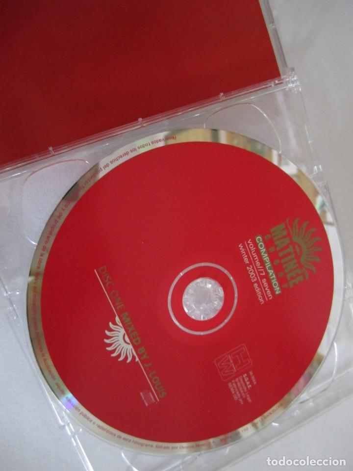 CDs de Música: doble cd matinee group compilation winter 2003 edition barcelona ibiza mixed by j.louis & chus soler - Foto 3 - 244665115