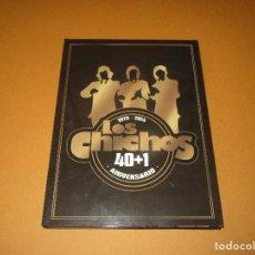 CDs de Música: LOS CHICHOS 1973 - 2014 ( 40 + 1 ANIVERSARIO ) - 2 CD + 1 DVD - UNIVERSAL - NI MAS NI MENOS - ODIO. Lote 244666055