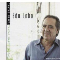 CD de Música: EDU LOBO – TANTAS MARÉS - NUEVO Y PRECINTADO. Lote 244667660