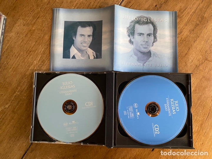 CDs de Música: Cd Julio Iglesias // Eternamente tuyo- 4cd's - Foto 4 - 244672900