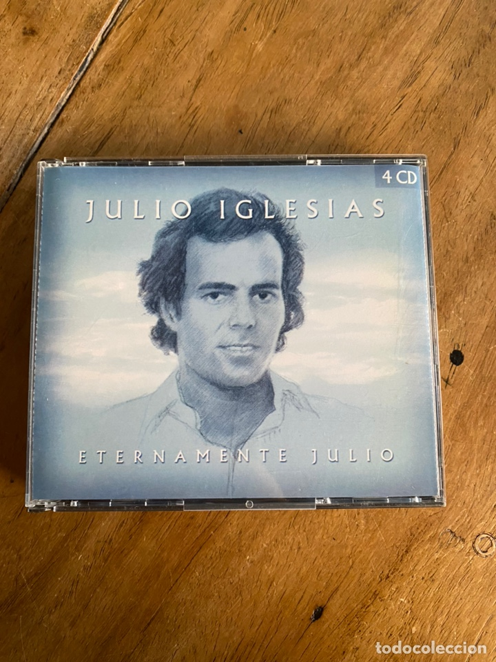 CD JULIO IGLESIAS // ETERNAMENTE TUYO- 4CD'S (Música - CD's Latina)