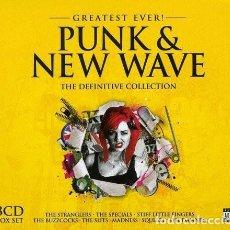 CDs de Música: PUNK & NEW WAVE - 3 CDS BOX SET - NUEVO Y PRECINTADO. Lote 244675475
